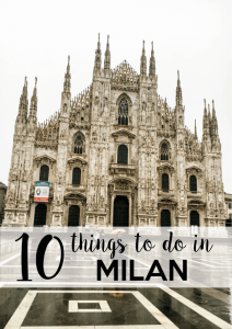10 things to do in milano