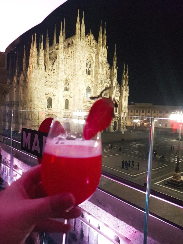 Rooftop bar Terrazza Duomo 21