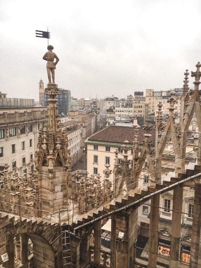 Rooftops Duomo Milan