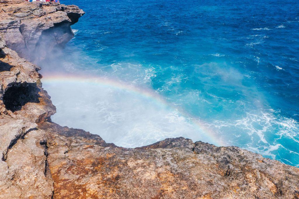 Devils Tears Rainbow Nusa Lembongan